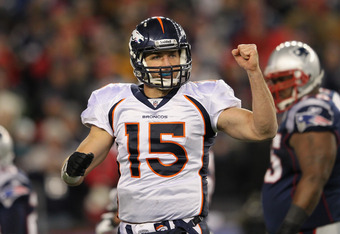 Don't Expect Tebow to Be Unseated by Manning