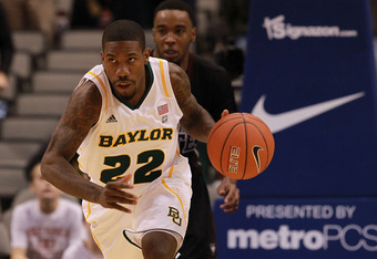 DALLAS, TX - DECEMBER 28:  A.J. Walton #22 of the Baylor Bears at American Airlines Center on December 28, 2011 in Dallas, Texas.  (Photo by Ronald Martinez/Getty Images)