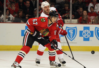 Frolik has found the key to the net to be quite elusive since joining the Blackhawks.