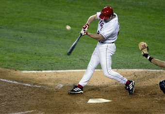 Might this be the greatest swing in Angels history?