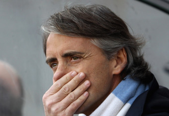 Roberto Mancini and Manchester City are now Arsenal's no. 1 enemy.