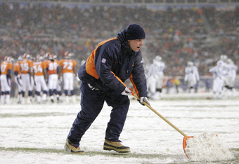 Sports Authority Field at Mile High in Denver is a cold stadium, considered to be a major stumbling block in the team's ability to sign Manning.