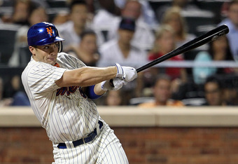 NEW YORK, NY - AUGUST 02:  David Wright #5 of the New York Mets against the Florida Marlins at Citi Field on August 2, 2011 in the Flushing neighborhood of the Queens borough of New York City.  (Photo by Nick Laham/Getty Images)