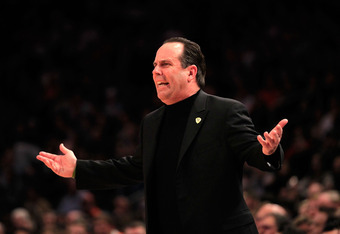 Even Mike Brey is confused as to why he can't win in the tournament.