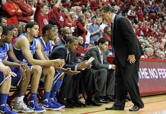 Kentucky will look to avenge its December loss to Indiana in the Sweet 16.
