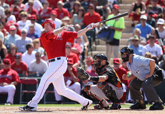 The Angels love what Trumbo gives them at the plate.  Can he hold his own defensively at third base is the question...