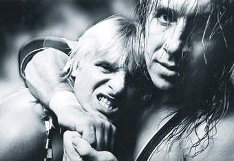 Bret Hart, wrenching a headlock on brother Owen, stated in 2007 that he was an advocate of a professional wrestling union.  His 1997 contractual battles with WWE became a public spectacle.  Later, he would lose his career and almost his quality of life to concussion-related injuries.