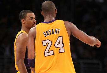 Kobe's Got His Man.