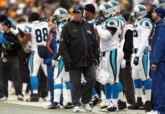 Mike Trgovac coordinated an aggressive 4-3 scheme in Carolina