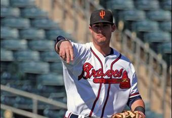 Joe Terdoslavich is expected to make the move from first base to third base this season for Double-A Mississippi.