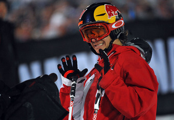 2009 X Games where he won the gold medal in Big Air