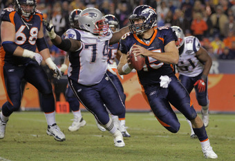 Kyle Love can't wait to show Tim Tebow a little love.