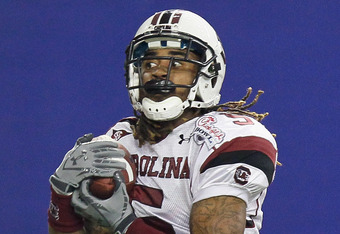 South Carolina CB Stephon Gilmore's stock is red hot right now.