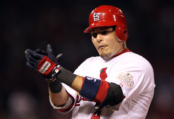 Yadier Molina's five-year, $75 million contract raised the bar high for free-agent catchers.