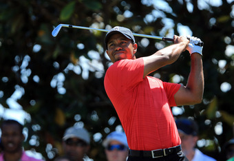 Tiger Woods in the Arnold Palmer Invitational