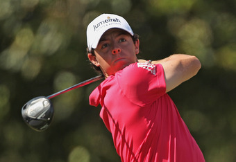 Northern Ireland golfer Rory McIlroy