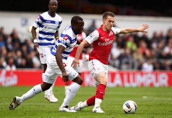 Aaron Ramsey didn't work in this match.