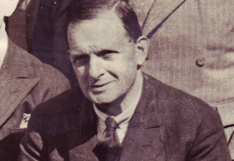 Louis Rocca, the man credited with the name Manchester United.
