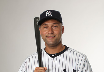 Derek Jeter: Ready for his 11th straight Opening Day start as the Yankees shortstop