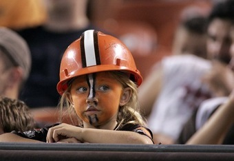 This girl's too young to have seen Eric Metcalf, let alone Jim Brown.