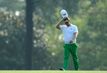 AUGUSTA, GA - APRIL 04: Hunter Mahan walks up a fairway during a practice round prior to the start of the 2012 Masters Tournament at Augusta National Golf Club on April 4, 2012 in Augusta, Georgia.  (Photo by Jamie Squire/Getty Images)
