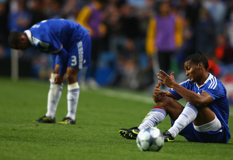 Chelsea was knocked out of UCL in 2009 by Barca.