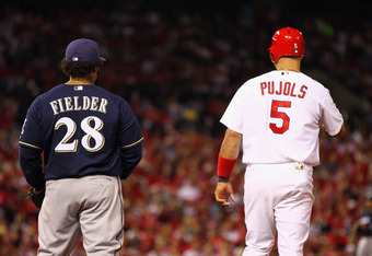 Pujols and Fielder Will Be Missing From the Series This Weekend