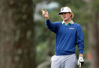 AUGUSTA, GA - APRIL 06:  Brandt Snedeker of the United States looks at a shot on the first hole during the second round of the 2012 Masters Tournament at Augusta National Golf Club on April 6, 2012 in Augusta, Georgia.  (Photo by Streeter Lecka/Getty Imag