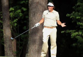 Phil Mickelson tried gallantly but fell short of his quest for a fourth Green Jacket.
