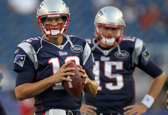 Although the future is blurry, the present is certain: Brady is the top dog in the AFC East.