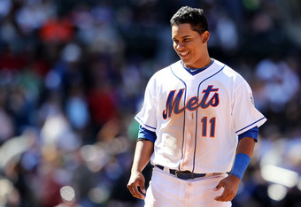Ruben Tejada isn't making Mets fans forget Jose Reyes, but he's playing well.