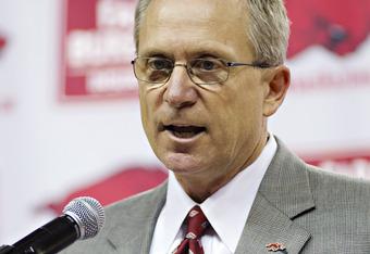 Arkansas Athletic Director Jeff Long