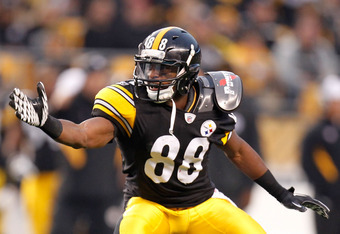Cotchery will be competing with Emmanuel Sanders for the Steelers' No. 3 receiver spot