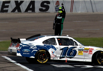 Trevor Bayne has had some great races, including a win last fall at Texas