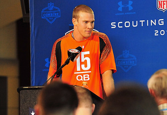 Ryan Tannehill more than likely will be taken by the Miami Dolphins with the 8th pick