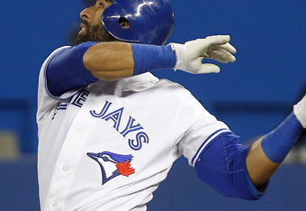 Jose Bautista: Looking to capture his third straight A.L. HR title in 2012