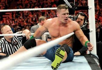 John Cena loses to Lord Tensai