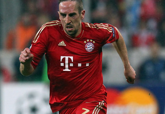 Ribery was great, but for God's sake stop flopping