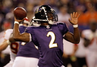 The addition of Curtis Painter shouldn't threaten Tyrod Taylor's spot as the No. 2 behind Joe Flacco