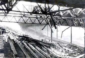 The damage sustained to Old Trafford during the Second World War was devastating and required years of rebuilding.