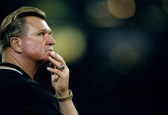 Former Saints head coach Mike Ditka, who knew the value of a franchise player.