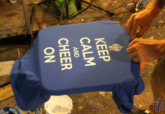 """""""Keep calm and cheer on"""" is the message Meenan has for all Mets fans this season."""