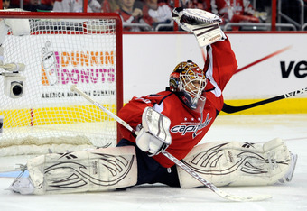 Caps goalie Braden Holtby has been the biggest storyline of the playoffs so far.