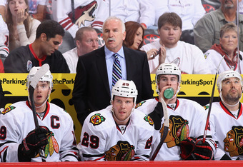 Chicago coach Joel Quenneville said his team has not played its best hockey in this series.