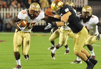 Florida State's Nigel Bradham is a good fit for the Giants strongside linebacker position.