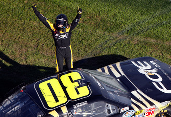 Buescher also has a Nationwide win to his credit after taking the victory at Daytona