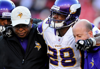 How badly will the potential long-term loss of Adrian Peterson affect the Vikings?