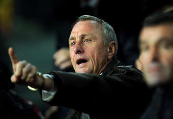 "Johan Cruyff is one of the major dissenters of ""anti-football"""