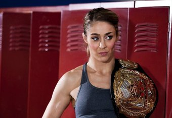 Invicta FC headliner Marloes Coenen (Photo courtesy Esther Lin|Strikefroce).