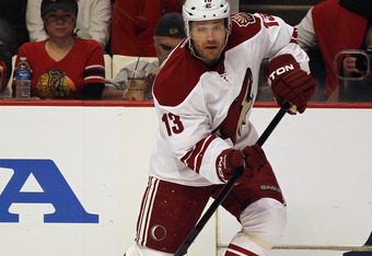 The Coyotes would like Ray Whitney to regain his scoring touch.